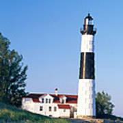 Big Sable Lighthouse Art Print
