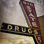 Big State Drugs Irving Art Print