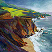 Big Sur 1 Art Print