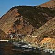 Big Sur Bridge Art Print