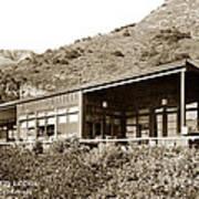 Big Sur Hot Springs Now The Esalen Institute California Circa 1961 Art Print