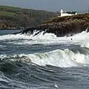 Big Swell In Dingle Bay Art Print