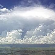 Big Thunderstorm Over The Bay Art Print