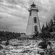 Big Tub Lighthouse Art Print