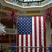 Big Usa Flag 1 Art Print