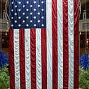 Big Usa Flag 2 Art Print
