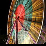 Big Wheel Edinburgh Art Print