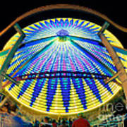Big Wheel Keep On Turning Art Print by Mark Miller