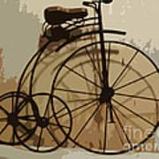 Big Wheel Trike Art Print