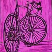Bike 4 Art Print by William Cauthern