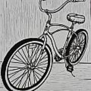 Bike 6 Art Print by William Cauthern