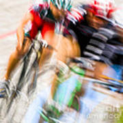 Bike Race I Art Print