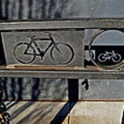 Bike Rack Art Print