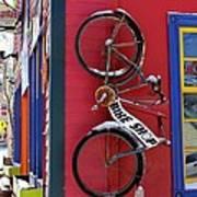 Bike Shop Art Print