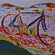 Bike Study Art Print