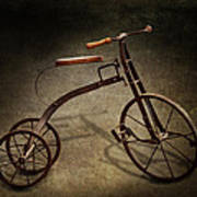 Bike - The Tricycle  Art Print