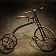 Bike - The Tricycle  Art Print by Mike Savad