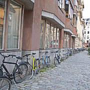 Bike Transportation Art Print
