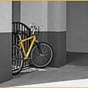 Bike With Frame Art Print