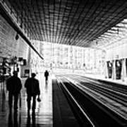 Bilbao Train Station Art Print