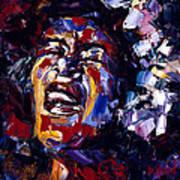 Billie Holiday Jazz Faces Series Art Print