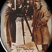 Billy Bitzer D.w. Griffith Pathe Camera Way Down East 1920-2013 Art Print