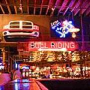 Billy Bobs - Forth Worth Art Print