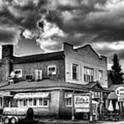 Billy's Restaurant And Walt's Diner - Old Forge New York Art Print