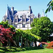 Biltmore House And Gardens Art Print