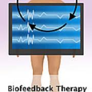 Biofeedback Therapy Art Print