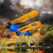 Biplane Series Art Print