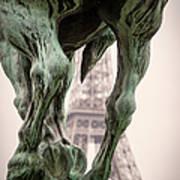 Bir Hakeim - Eiffel Art Print