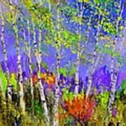 Birchtrees 56412 Art Print
