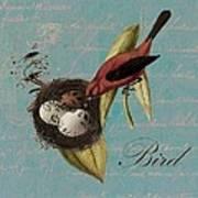 Bird Nest - 02v02t01 Art Print