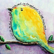 Bird Of Hope Art Print by Lauretta Curtis