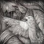 Bird Of Life Print by Praphavit Premtha