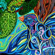 Bird Song Art Print by Genevieve Esson