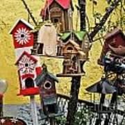 Birdhouse Subdivision Art Print