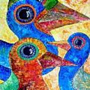 Birds 736 - Marucii Art Print