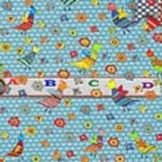 Birds And Flowers For Children Art Print