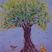 Bird's Bliss Art Print