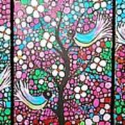 Birds In The Summer Breeze Art Print