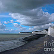Birling Gap Beach Art Print