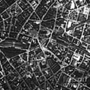 Birmingham, Historical Aerial Photograph Art Print