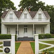 Birth Home Of Dwight D Eisenhower - Denison Texas Art Print