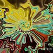 Birth Of A Flower Art Print by Lorraine Heath