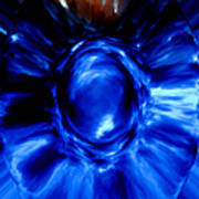 Birth Of Blue Art Print
