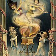 Birth Of The Chorus Girl Art Print