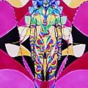 Birth Of The Flying Rainbow Lasagne Art Print