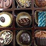 Birthday Chocolates Art Print